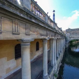 A view over the River Avon in Bath