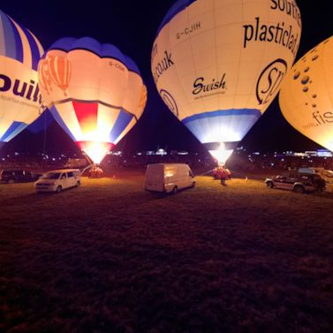 Bristol Balloon Festival's 'Nightglow' display is ready for take-off