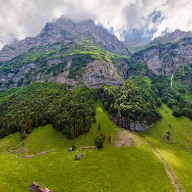 Enjoy a stunning view from the heart of the Appenzell Alps