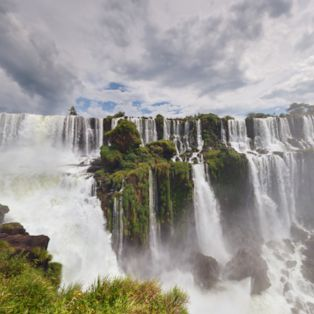 Drink in this spectacular view from the Argentina-Brazil border