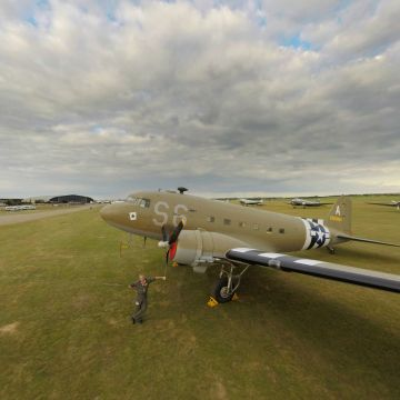 See the squadron of D-Day Dakotas at RAF Duxford that flew to Normandy for commemorations