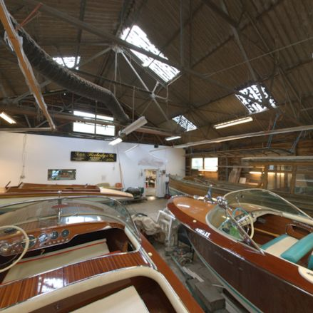 Welcome to the workshop of the oldest boatbuilding family in Britain, on the River Thames in Hurley, Berkshire