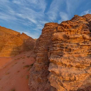 Visit the Wadi Rum desert in Jordan to see why it's also called the 'Valley of the Moon'