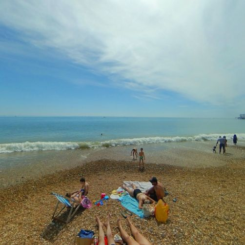 If you like to be beside the seaside, we've got the perfect panorama for you!