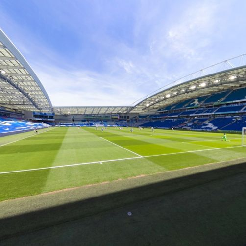Welcome back to the Premier League, as Brighton and Arsenal players take the knee prior to their clash at the Amex