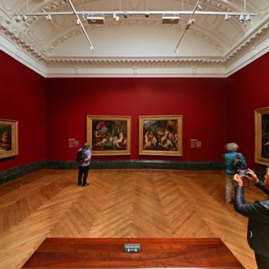Join visitors returning to the National Gallery in London, as the venue re-opens its doors this week