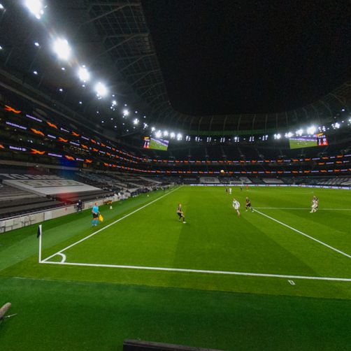 Spurs take on LASK in the Europa League at their new Tottenham Hotspur Stadium